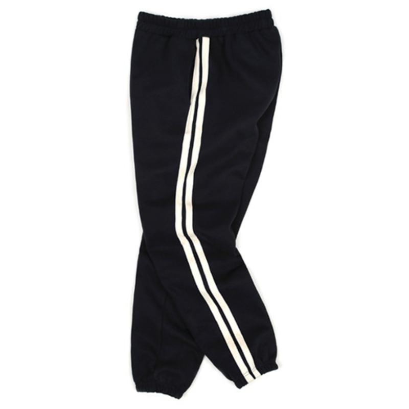 1801 Tape sweat pants(Black) / standard