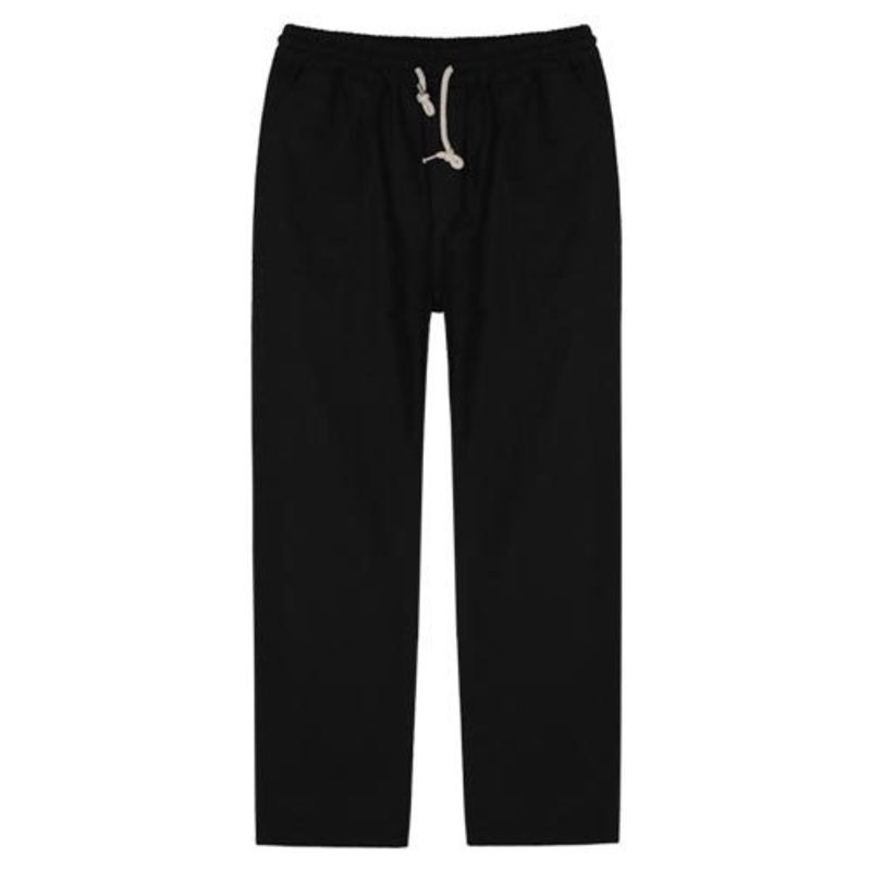 1823 Linen pants / standard(Black)(50%SALE)