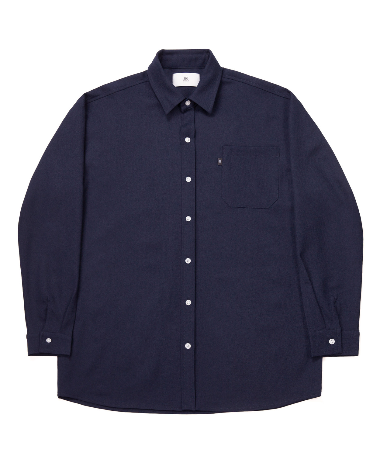 2722 Oversize shirts (Navy)(30%SALE)