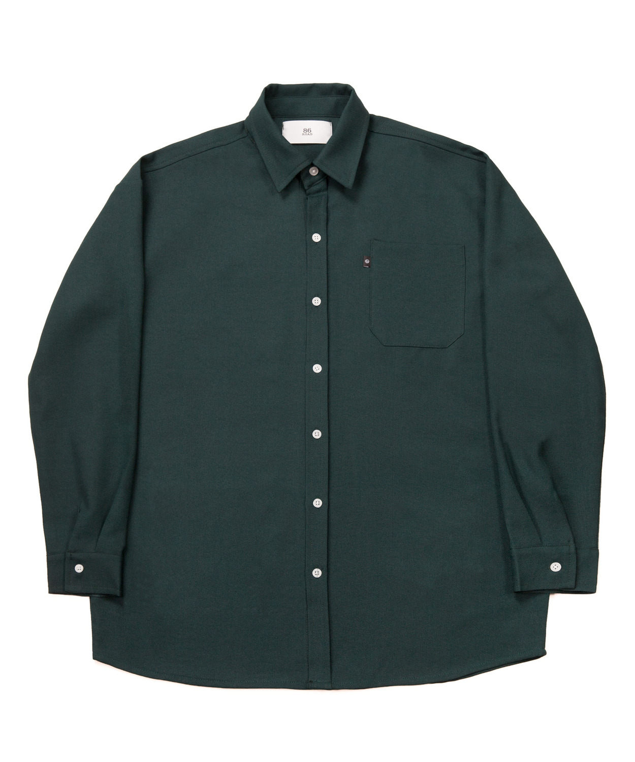 2722 Oversize shirts (Green)(30%SALE)