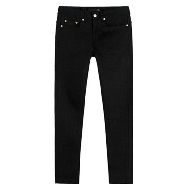 [BEST] 1611 pure black jeans(17%SALE)서강준 착용