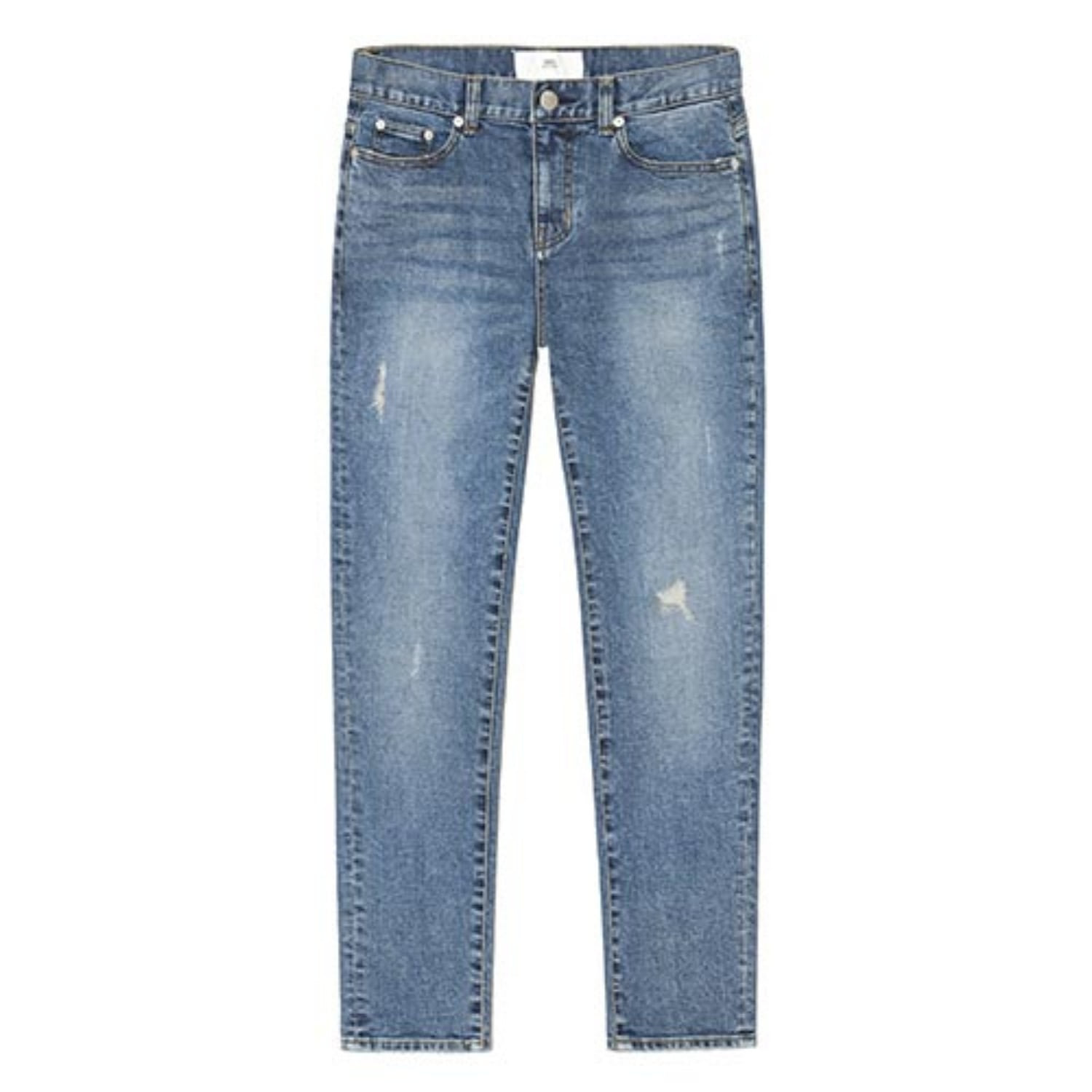 103K Blue Reworked Jeans