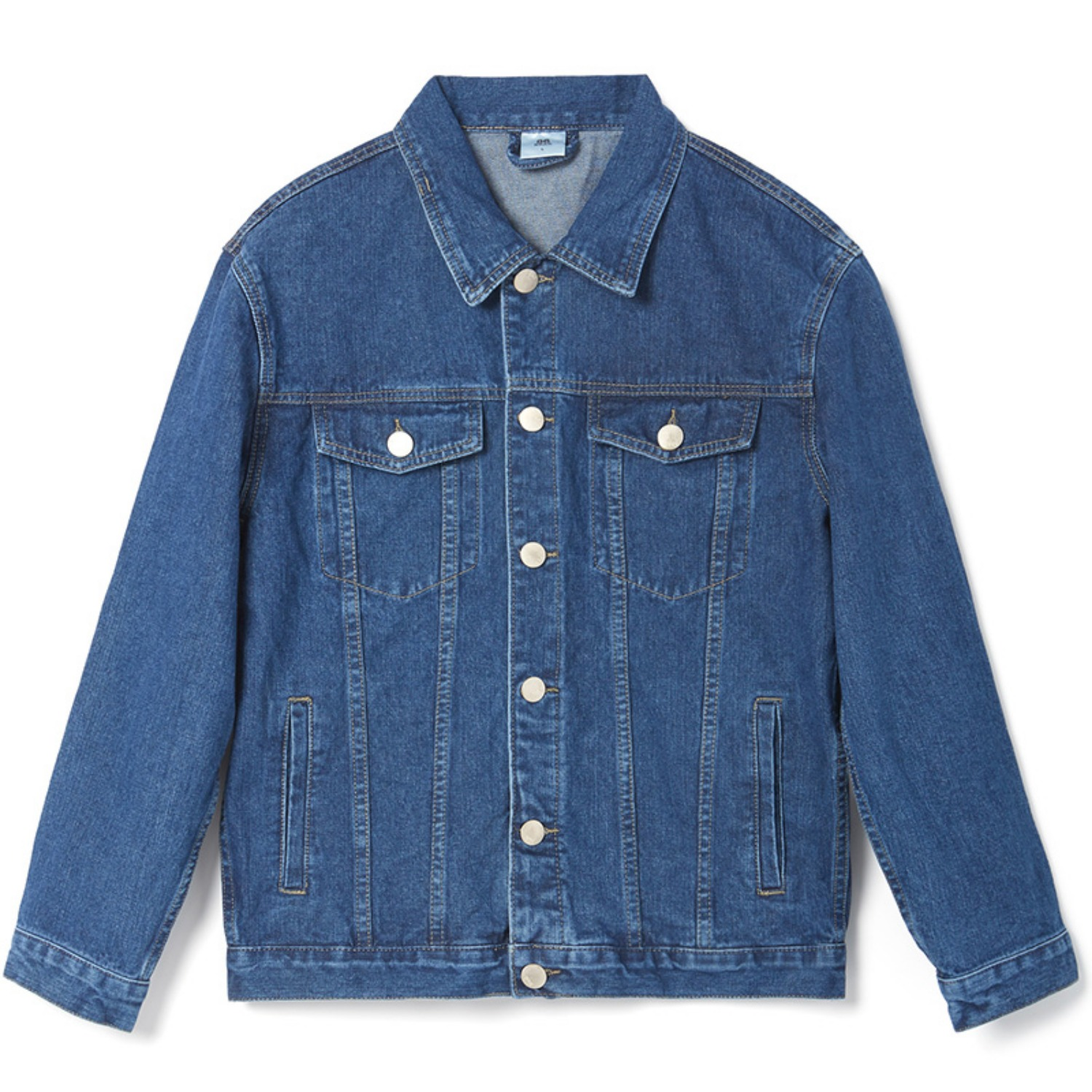 Steady Washing Denim Jacket - Blue