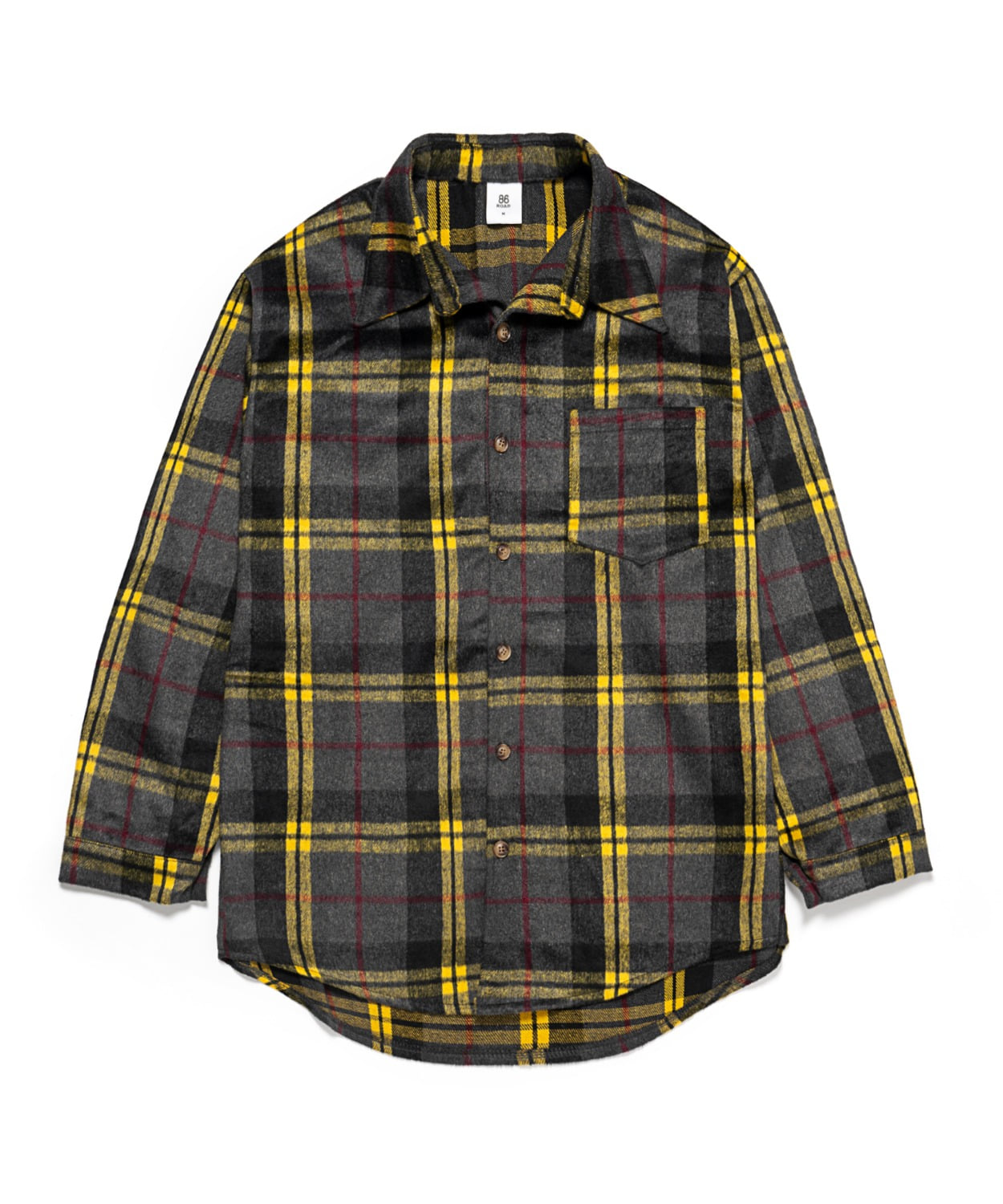 Napping Wool Check Shirts - Yellow(40%SALE)