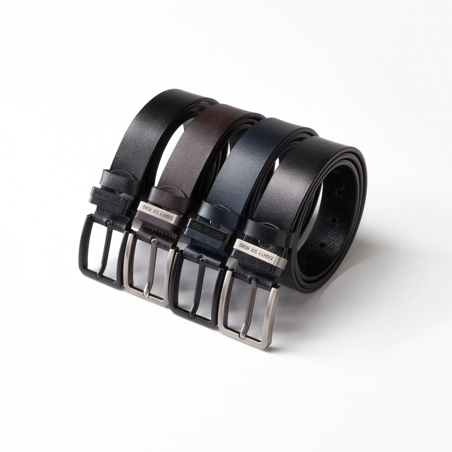 ESR LOGO  ITALIAN LEATHER BELT(30%SALE)
