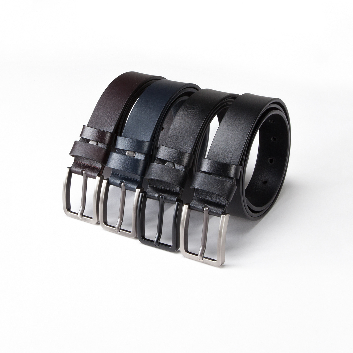 BASIC ITALIAN LEATHER BELT(34%SALE)