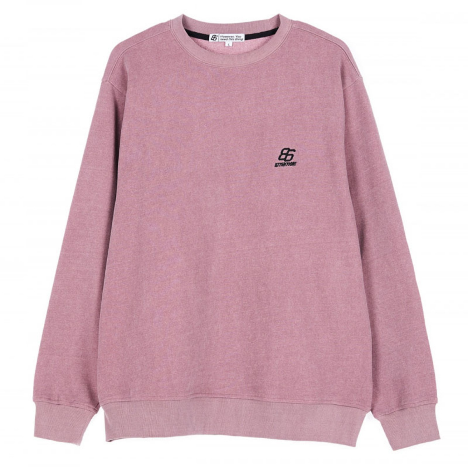 EFFECT DYED SWEATSHIRTS INDI PINK(special coupon)