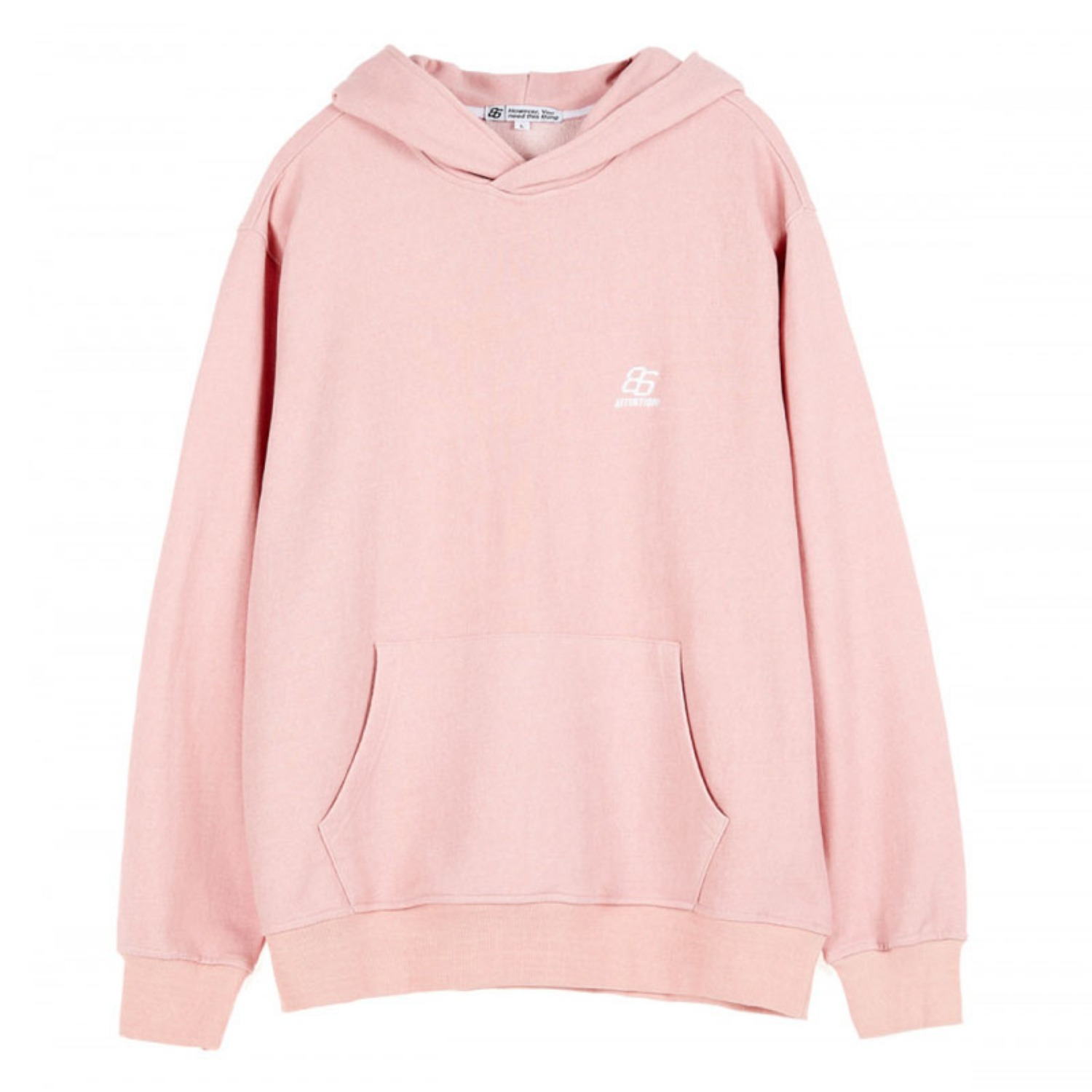 EFFECT DYED HOOD BABYPINK (special coupon)