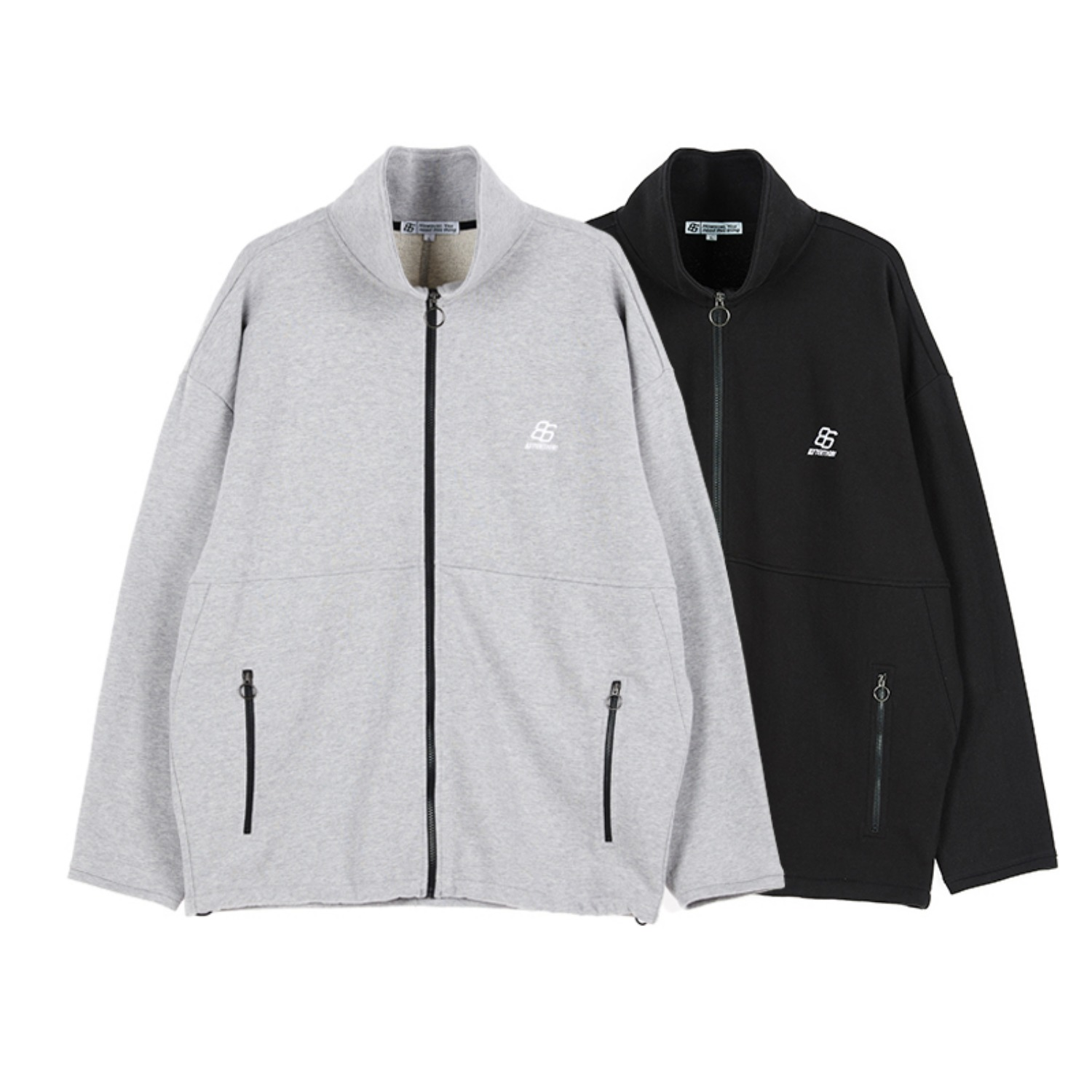 OVERFIT RING ZIP-UP