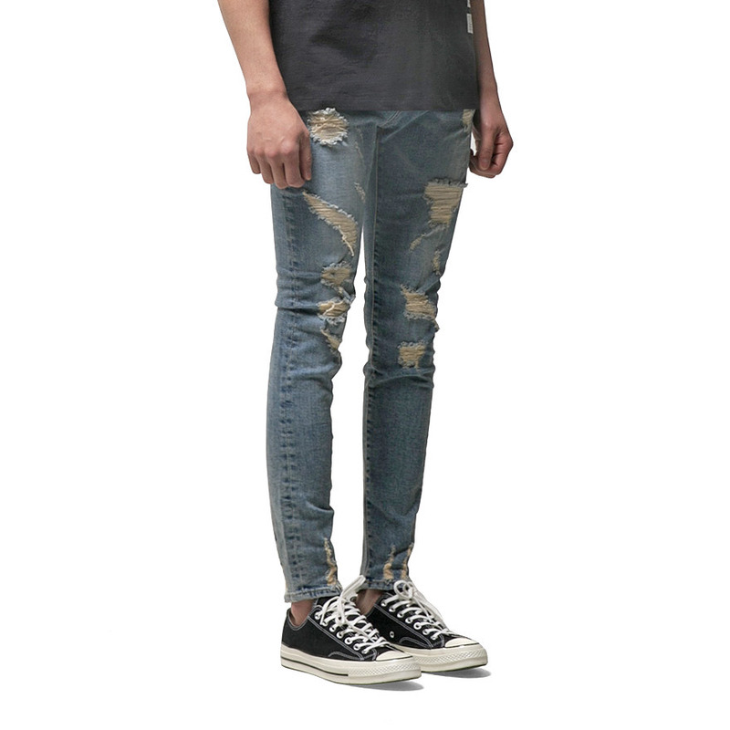 [XS(26) 사이즈 입고] 86RJ-1602 damage washing destroyed jeans