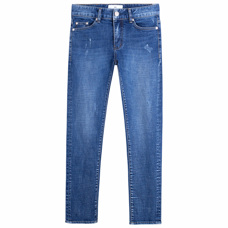 86RJ-1704_cross weaving point jeans