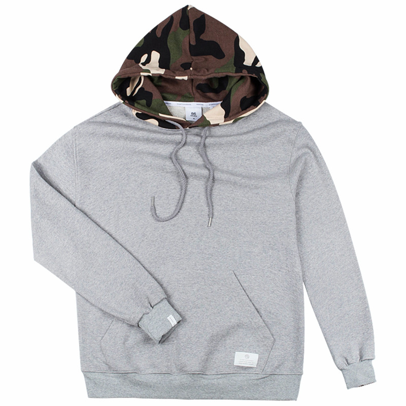 86RJ-2708 hood military point hoody _grey(71%SALE)