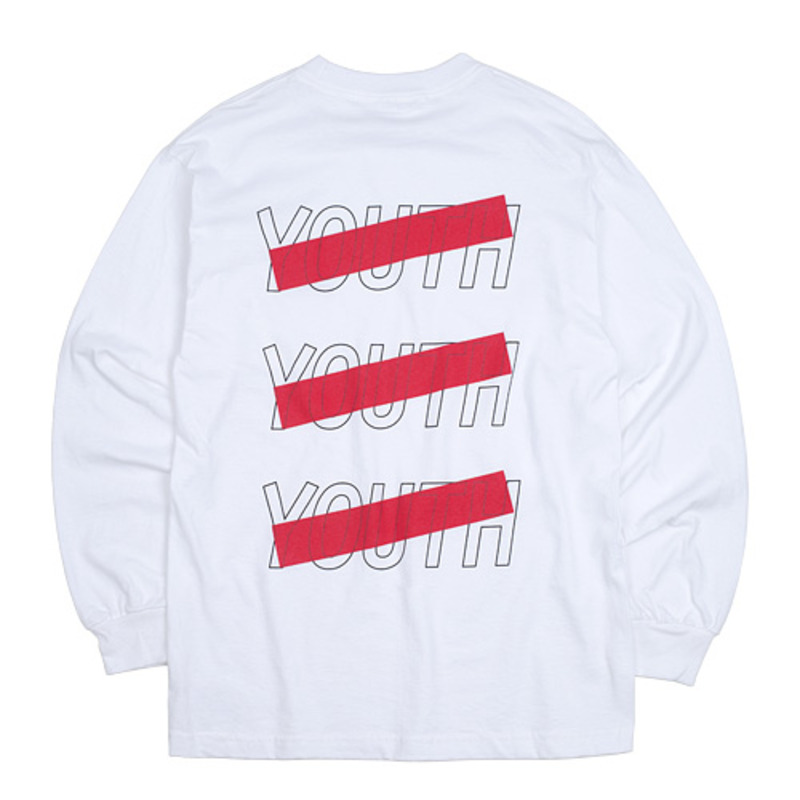 2720 Triple Youth t-shirts (White)