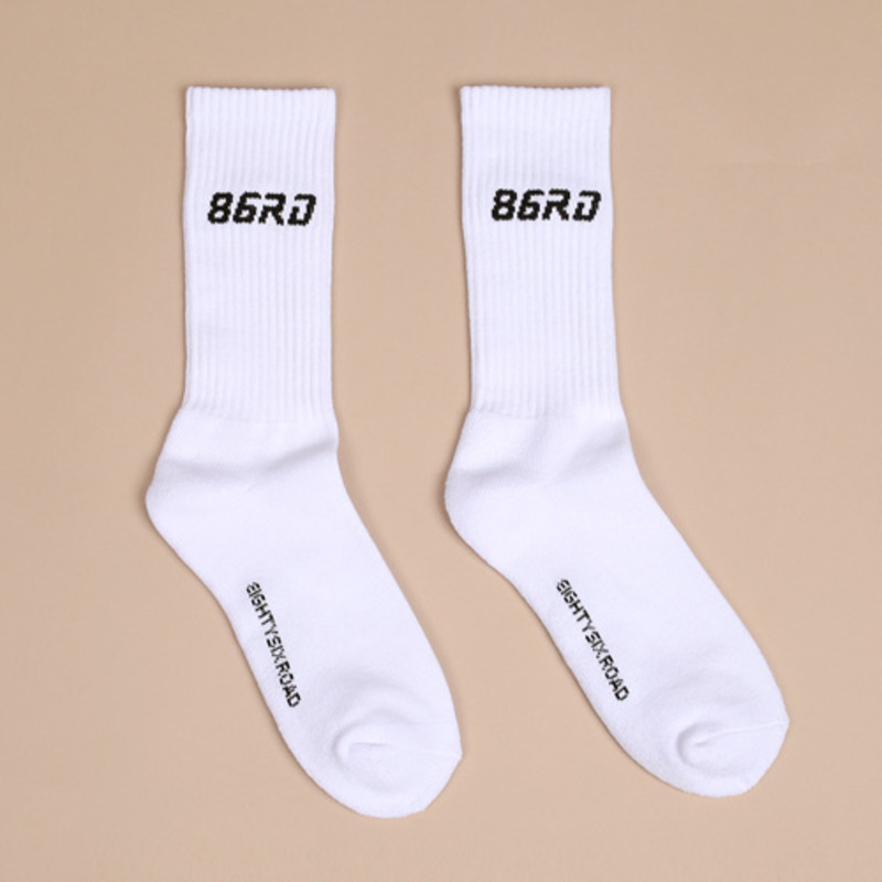 86RD white socks