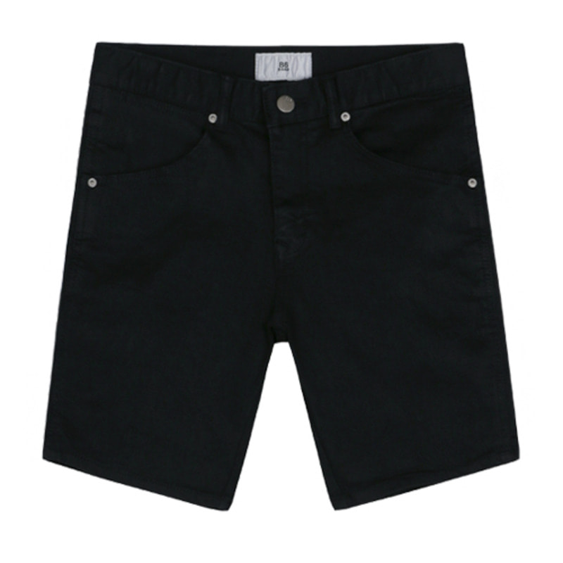 1819 Black denim shorts / standard