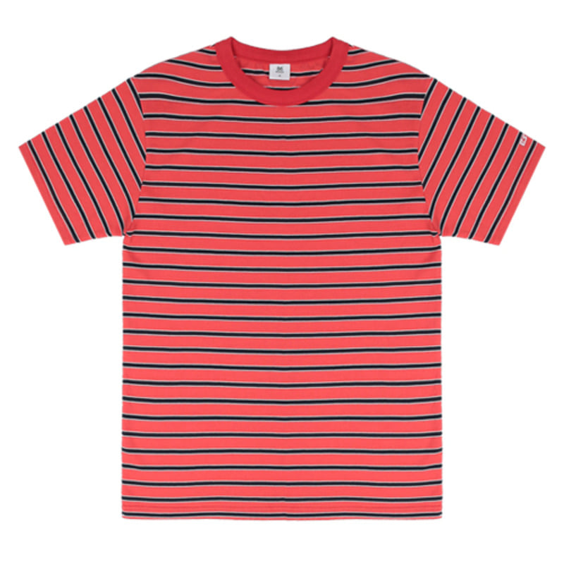 2816 Multi color t-shirts(Red)(49%SALE)