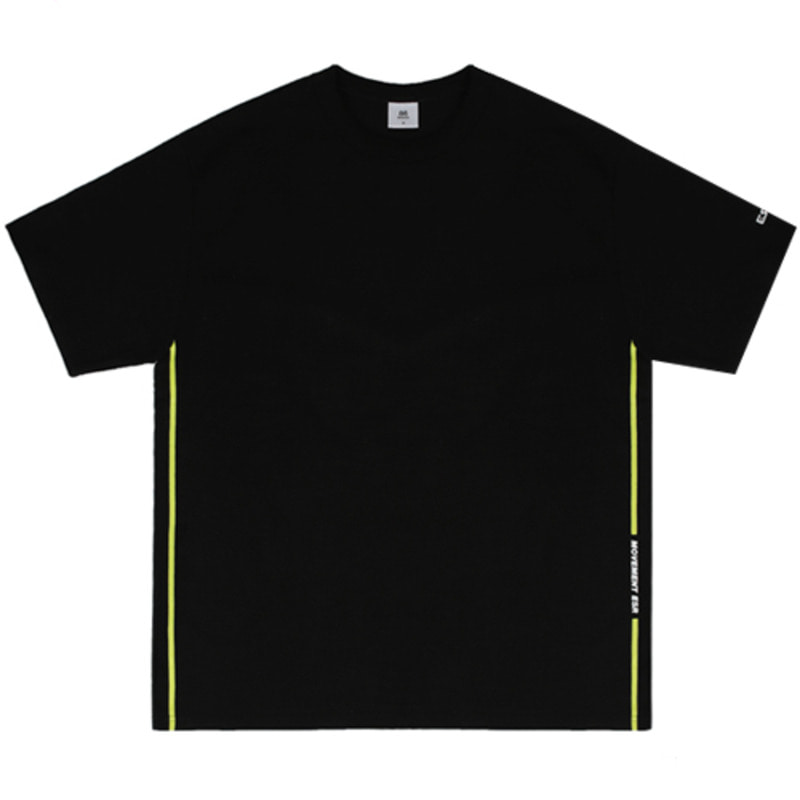 2817 ESR side t-shirts(Black)(32%SALE)
