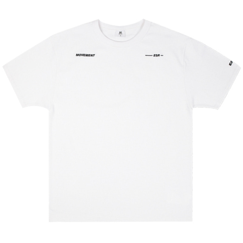 2818 Movement ESR t-shirts(White)