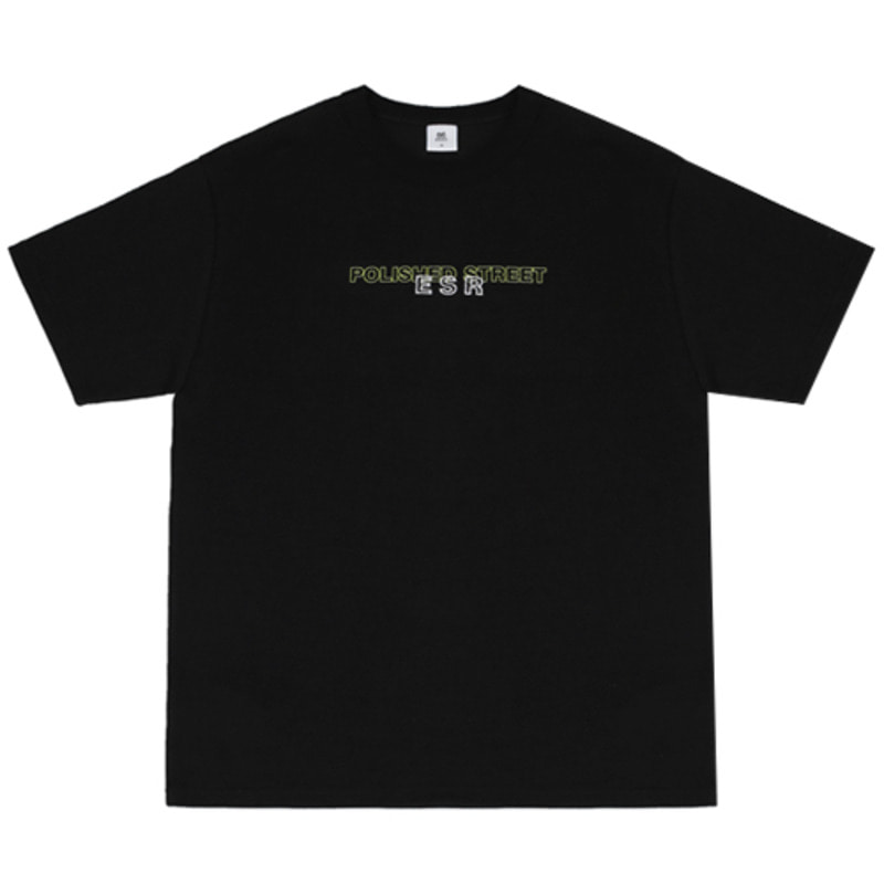 2819 Polished t-shirts(Black)
