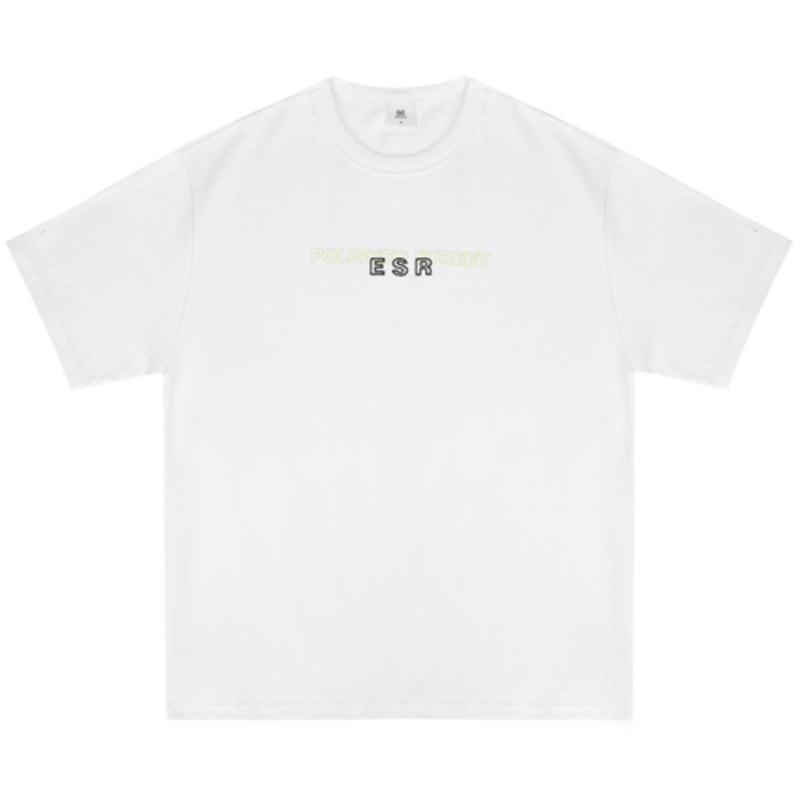 2819 Polished t-shirts(White)(32%SALE)