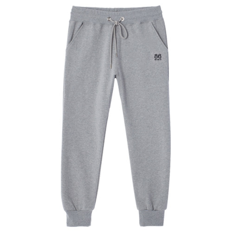 1727 Small logo sweatpants (gray) / slim