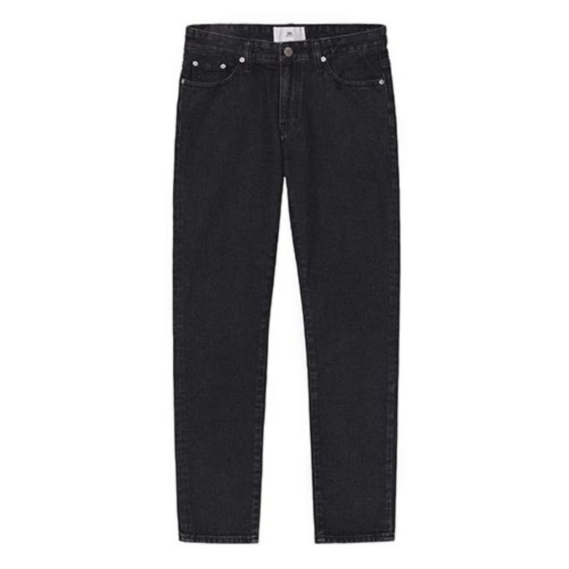 86RJ_1672 basic black jeans(gray)