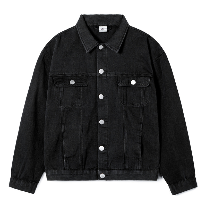 STANDARD TRUCKER JACKET(Black)