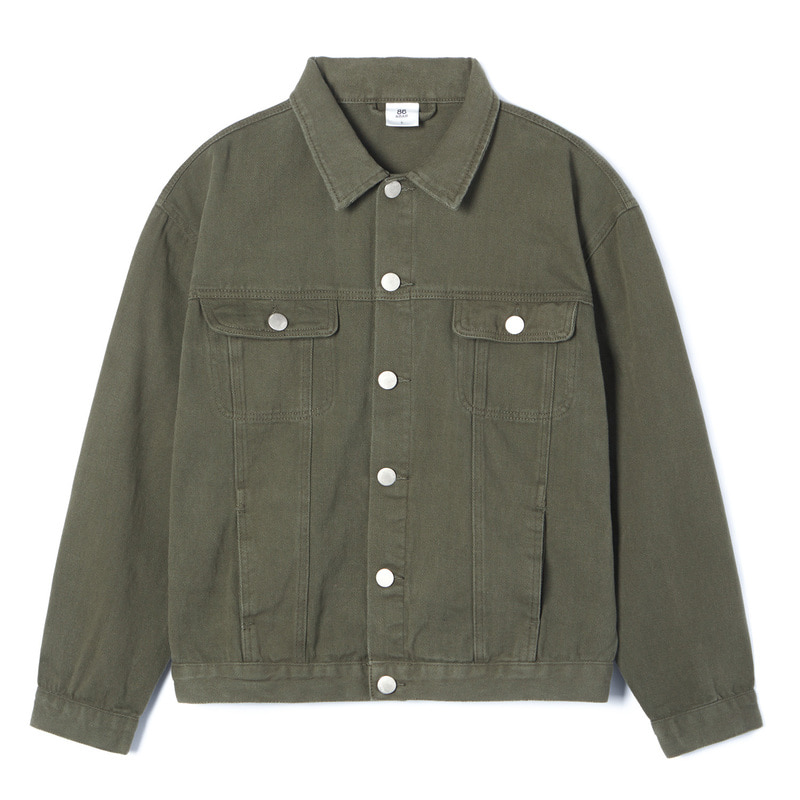 STANDARD TRUCKER JACKET(Khaki)(20%SALE)
