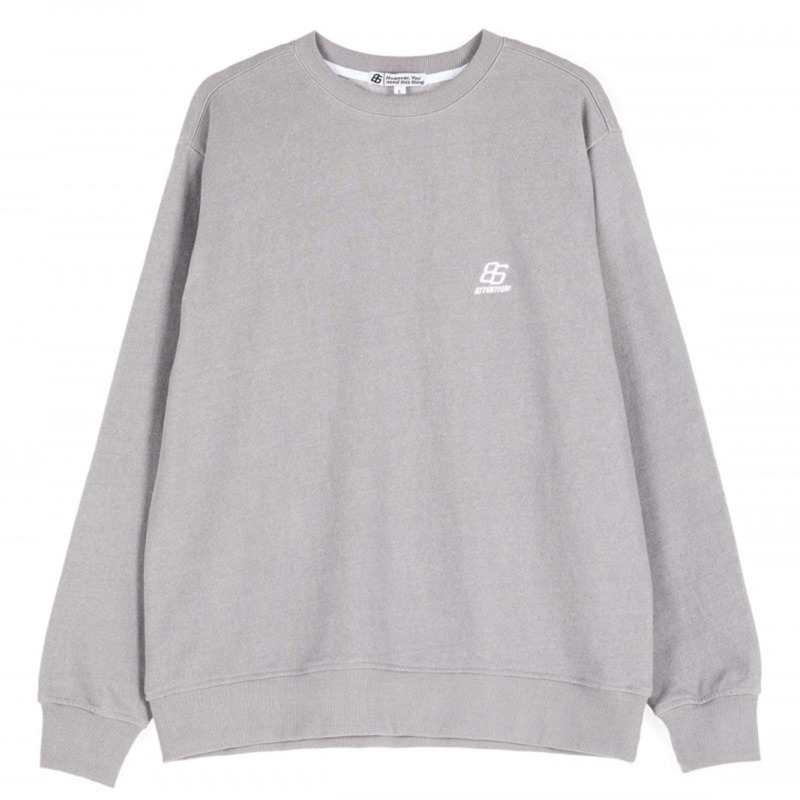 EFFECT DYED SWEATSHIRTS GREY (special coupon)