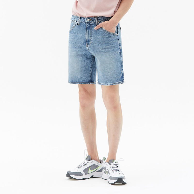 SUMMER DENIM SHORTS (LIGHT BLUE)