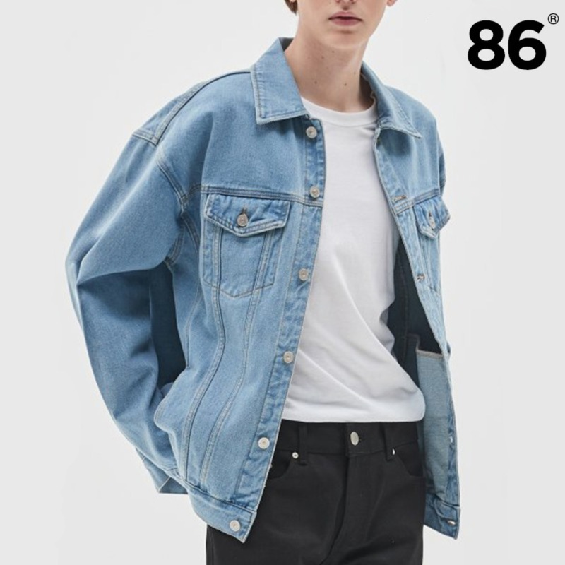 2724 WASHING DENIM JACKET (LIGHT BLUE)