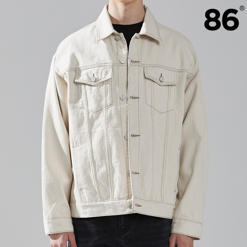 (20SS 신상) 2725 washing denim jacket (CREAM)